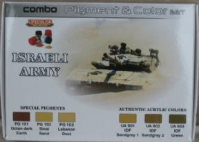 LC-SPG01 Israeli Army Pigment & Colour Combo Set (22ml x 6)